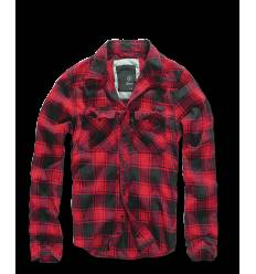 Check Shirt red black