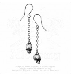 Alchemy Dead Skull Earrings