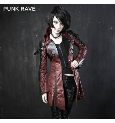 Poisonred - Gothic style women's jacket by Punk Rave