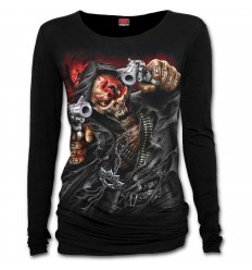 5FDP - ASSASSIN - Baggy Top Black