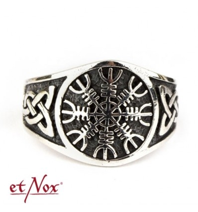 "etNox-ring ""Viking Compass"" 925 silver"