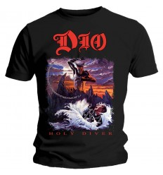 DIO UNISEX TEE: HOLY DIVER