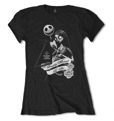 DISNEY LADIES TEE: THE NIGHTMARE BEFORE CHRISTMAS BLOCKHEADS