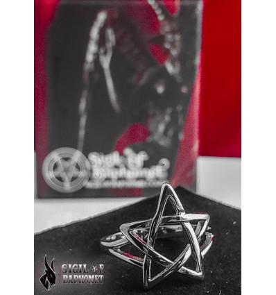 Anillo Pentagrama (Acero inoxidable)