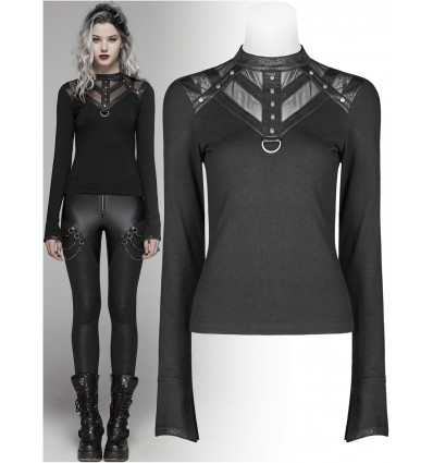 Gothic Top by Punk Rave