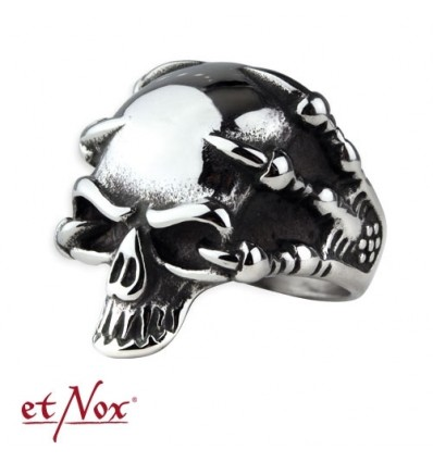 "etNox ring ""pirate skull"" stainless stee"