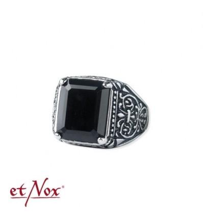 """""""etNox - ring """"Skull"""" stainless steel"""""""