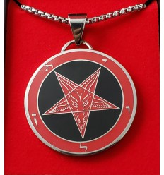 Sigil of Baphomet M.B. Black/Red - New and Improved