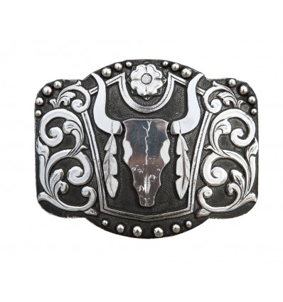 Western Buckle  Material: 100% zinc alloy
