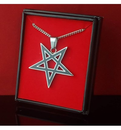 Inverted Pentacle Pendant