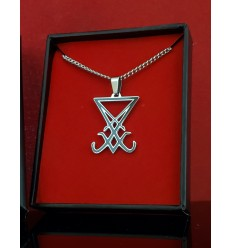 """Seal of Lucifer 1.25"""" inch Pendant"""