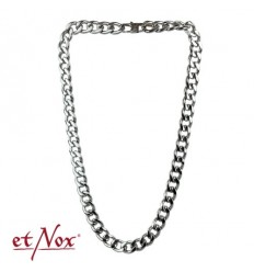 etNox stainless steel curb chain 13 mm