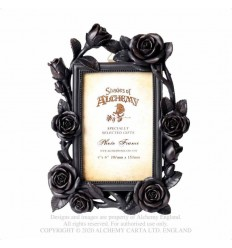 "ROSE & VINE PHOTO FRAME (6X4"") BLACK (SA17)"