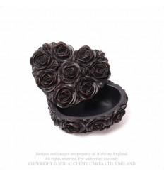 ROSE HEART BOX - BLACK (SA19)