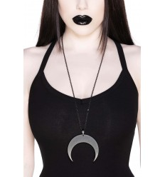 Waxing Crescent Necklace [B]